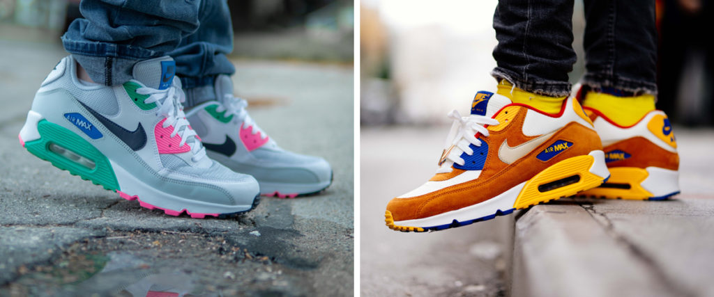 Nike Air Max colorate